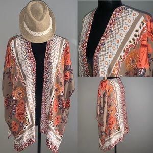 Angie Floral Kimono Top